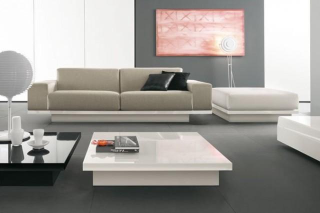 Salotto Rustico Moderno ~ Idee per il design della casa